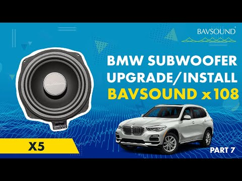 BMW X5 Subwoofer System (x108) by BSW - Install Guide 7 of 7