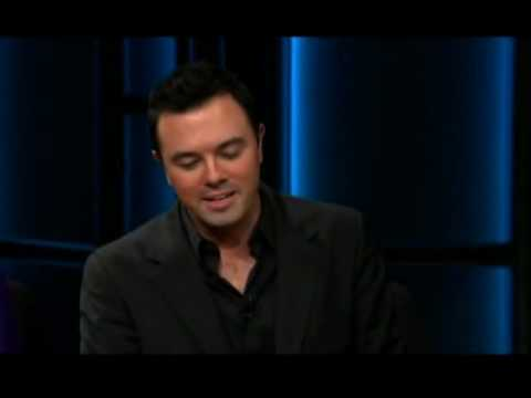 Seth MacFarlane about Sarah Palin and Andrea Friedman on Real Time with Bill Maher