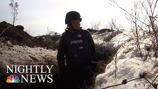 Inside Ukraine's Heated Battle Against Russian-Backed Separatists | NBC Nightly News - NBCNEWS