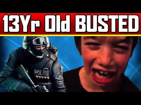 13Yr Old BUSTED IRL Battlefield Hardline