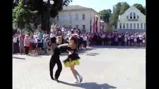 Бальные танцы дети. Зажигательная ча-ча-ча бальные танцы ТСК Оникс.