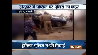 Police brutally assaults family over parking issue in Haridwar (watch video) - INDIATV