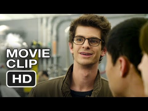 The Amazing Spider-Man Movie CLIP #3 - Second in His Class (2012) Andrew Garfield HD