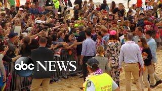 Prince Harry and Meghan Markle visit Bondi Beach - ABCNEWS