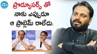 I Never Had Problems With My Producers - Lyricist Krishna Kanth | Talking Movies With iDream - IDREAMMOVIES