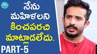 Anchor Ravi and Meghana Lokesh Exclusive Interview Part #5 || Star Talks With Sandy - IDREAMMOVIES