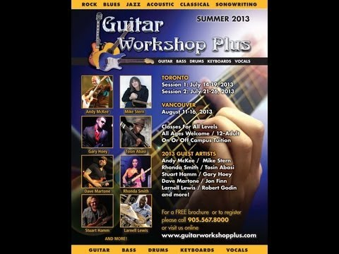 Guitar Workshop Plus 2013 Shredding the Blues with Dave Martone & Gary Hoey!