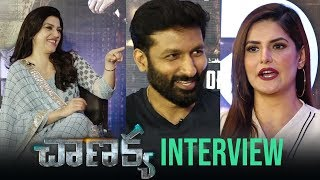 Chanakya Movie Special Interview | Gopichand, Mehreen, Zareen Khan - TFPC