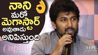 Actor Nani Emotional Speech @ Ninnu Kori Movie Success Meet | TFPC - TFPC