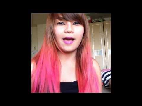 สาธิตการทำสีผม DIY My Hair #Pink  by Chxzchic