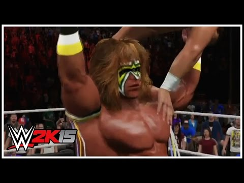 WWE 2K15 New Gameplay Screenshots - Ultimate Warrior, Legend Killer Randy Orton, Hulk Hogan & More!