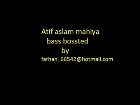 Atif aslam - mahiya ve soniya bass boosted ra one akon chammak challo song chalo