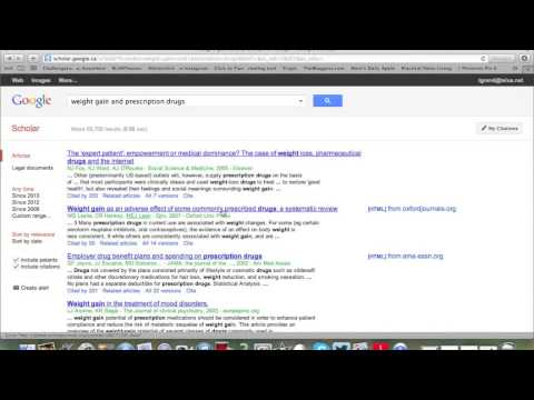How to do a Google Scholar Search