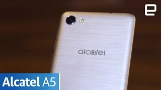 Alcatel A5 | Hands-On | MWC 2017 - ENGADGET