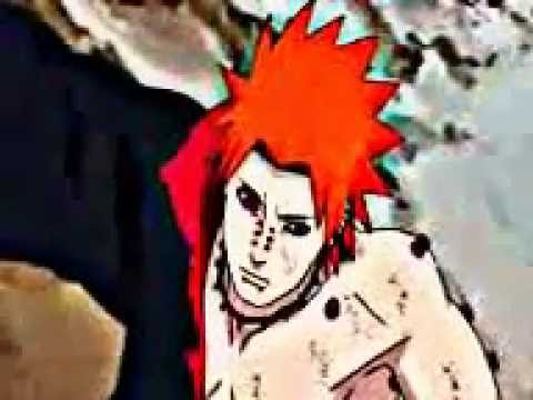 naruto and hinata vs pain-sum41