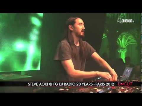 Clubbing TV presents FG 20 Ans @ Grand Palais Paris with Steve Aoki - 2012