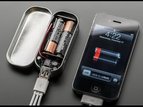 How to make a Portable USB cell phone charger