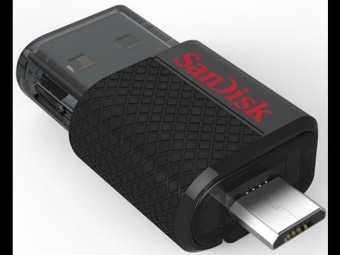 SanDisk Ultra Dual USB Drive & Wireless Flash Drive