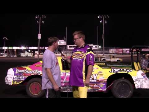 Damon Murty Stock car feature winner 08/23/14