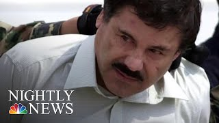 El Chapo Opening Statement Delayed Due To Juror Replacements | NBC Nightly News - NBCNEWS