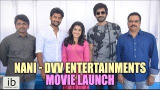 Nani - DVV Entertainments movie launch - idlebrain.com - IDLEBRAINLIVE