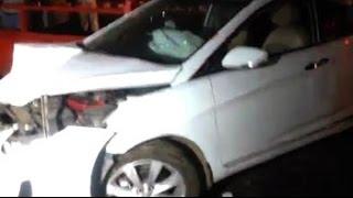 Caught on Camera: Delhi drunk driver almost rams into temple - NDTVINDIA