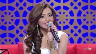 بالفيديو.. كارمن سليمان تغني 'حضرة العمدة' من جلسات وناسة