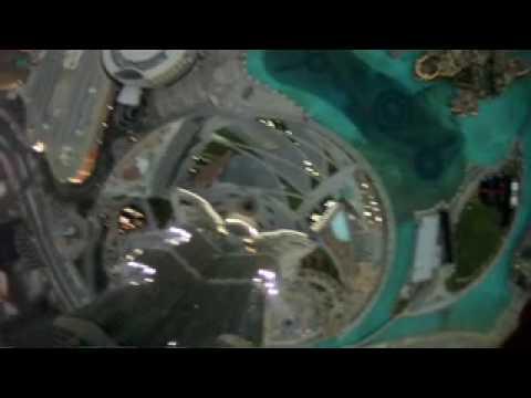 WORLD RECORD BASE JUMP BURJ KHALIFA