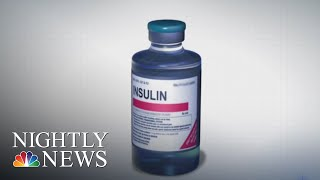 Americans Rationing Insulin As Prices Skyrocket   NBC Nightly News - NBCNEWS