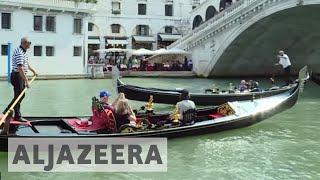 Anti-tourism sentiment grows in overcrowded Venice - ALJAZEERAENGLISH