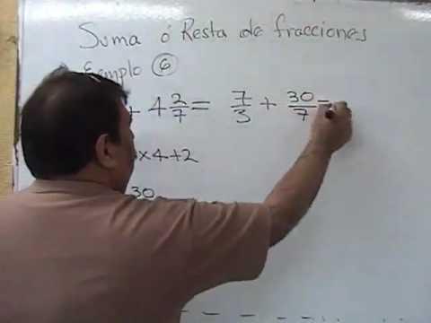 suma de fracciones mixtas diferente denominador.mp4