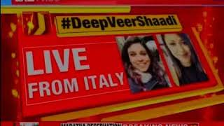 Konkan wedding ceremony lake como, Italy || DeepVeer Band-Baja-Baarat || - NEWSXLIVE