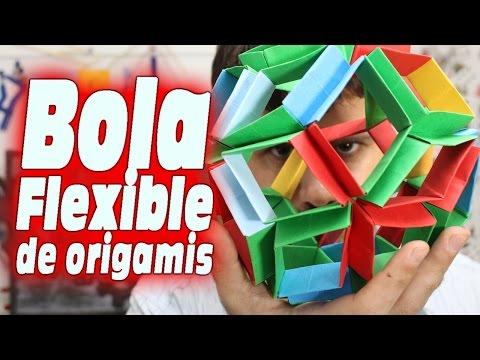 Bola Flexible de origamis (Origami Flexiball)
