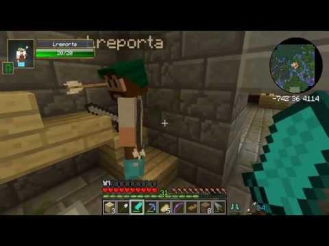 Ep. 10 - Minecraft Hexxit com Leon e Monark.