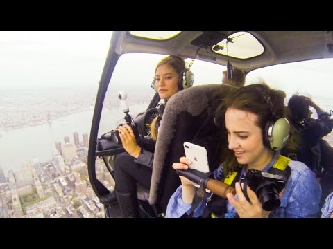 NYC HELICOPTER RIDE with iJustine !!!!