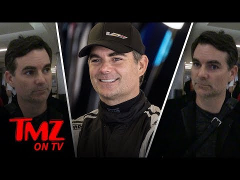 Jeff Gordon Doesn't Trust Self Driving Cars | TMZ TV - صوت وصوره لايف
