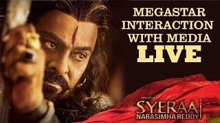 Sye Raa Press Meet | Chiranjeevi Interaction With Media | Sye Raa - TFPC