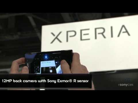 CES 2012: Xperia ion phone by Sony at CES 2012: FIRST HANDS ON!
