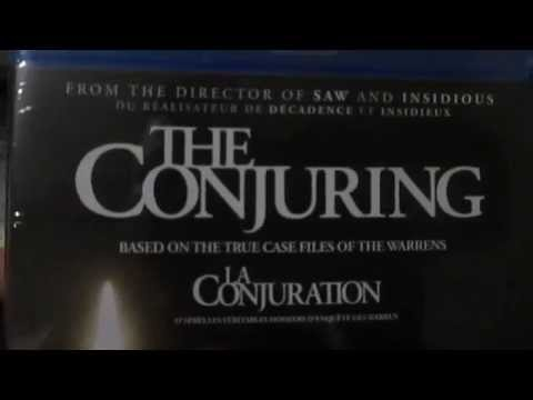 The Conjuring Blu Ray Unboxing