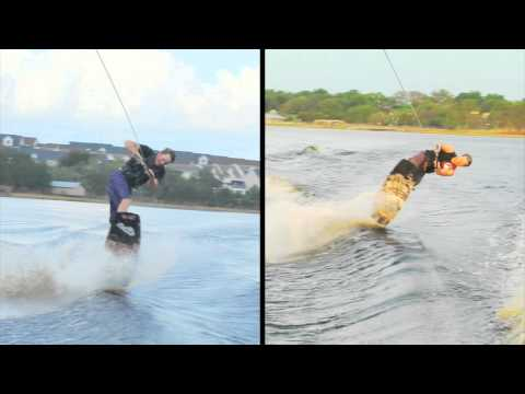Wakeboard Flip: Making the Front Roll Rotation