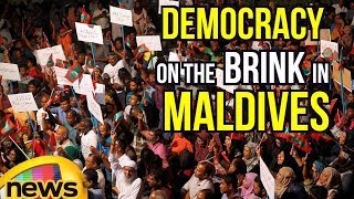 Maldivians Protest To Obey Supreme Court Orders To Release Political Prisoners | Mango News - MANGONEWS