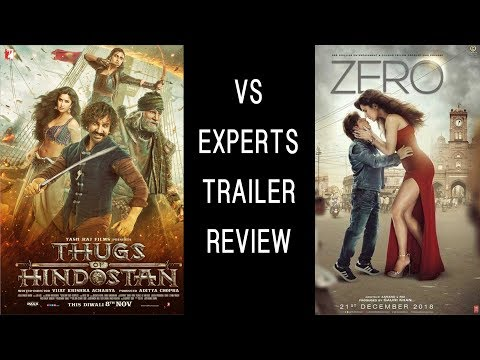 Thugs of Hindostan vs Zero | Experts Trailer Reviews | SRK | Aamir Khan | Katrina | Anushka