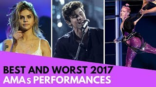 AMAs: Best and Worst Performances! (BTS, Selena Gomez, etc!) - HOLLYWIRETV