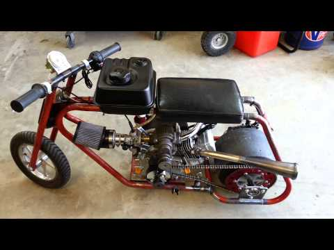 Roots Supercharged Mini Drag Bike Startup/Rev For Sale $2000