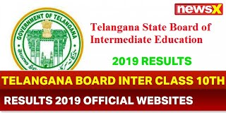 TS Telangana Inter 10th Result 2019; Official websites for Telangana board inter 10th result 2019 - NEWSXLIVE