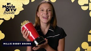 Millie Bobby Brown's Anti-Bullying Message | 2018 MTV Movie & TV Awards - MTV