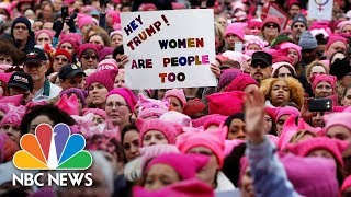 Watch live: Women's March  Rallies from around the U.S. - NBCNEWS