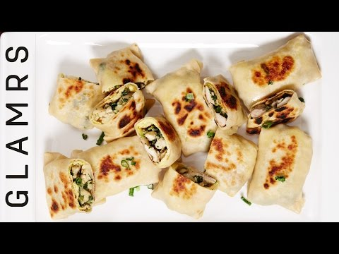 Yummy Chicken Katti Kebab | Tasty and Easy Starter Recipe | Mini Katti Appetiser Rolls