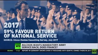 Is France ready? Macron vows to return mandatory army service - RUSSIATODAY