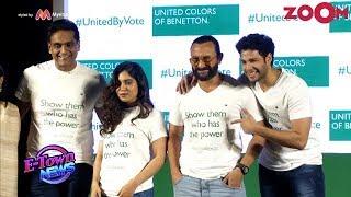 Saif Ali Khan, Bhumi Pednekar & Siddharth Chaturvedi appeal the youth to vote this election - ZOOMDEKHO